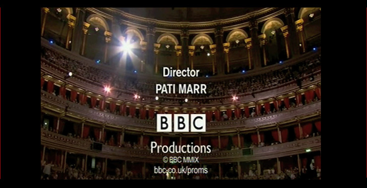 BBC Proms credit